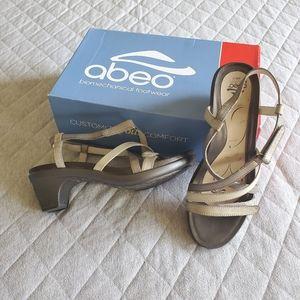Abeo B.I.O.System Gloriana Neutral dress sandals
